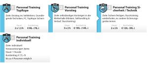 Kursschema Personal-Training