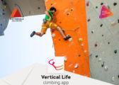 Routen APP - Vertical Life