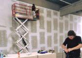Baufortschritte Boulderhalle Salzburg