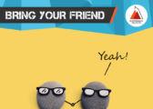Nimm einen Freund mit