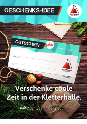 Foto: A5 Flyer Weihnachten Gutscheine